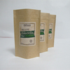 customize food grade food moisture-proof pe coated paper bag oil-proof coffee kebab packaging food bags