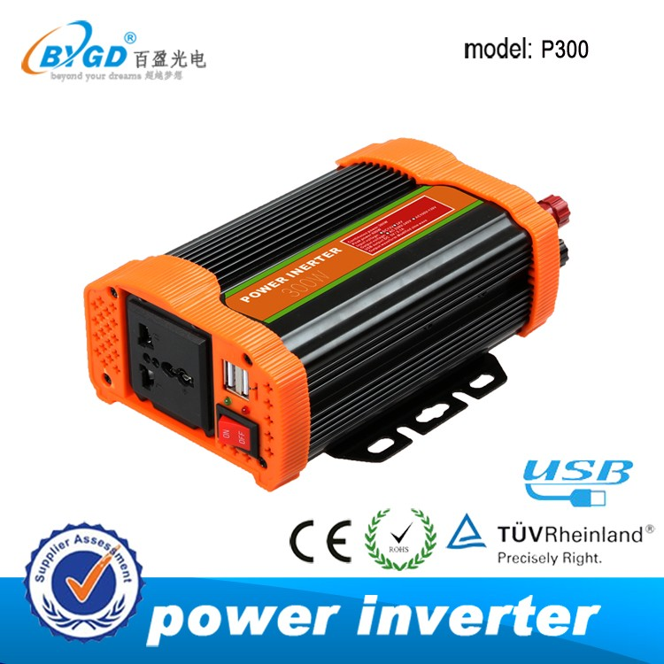 300w made in china dc to ac solar power inverter