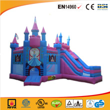 2017 Giant PVC material commercial use princess inflatable jumping castle