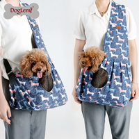 2017 Doglemi New Fashion Pet Dog Cat Sling Carrier Shoulder Bag
