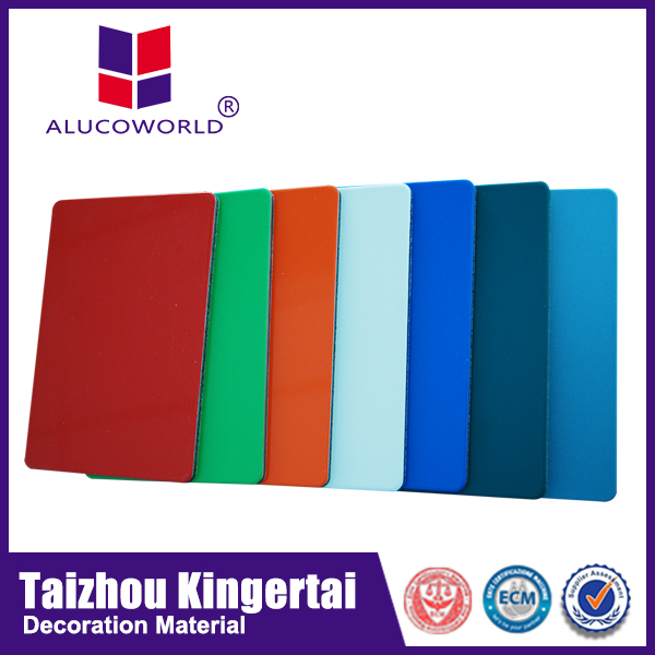 Alucoworld color chart for wall paints exterior decoration aluminium composite panels dealers in kerala