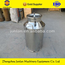 Stainless steel milk transportation can