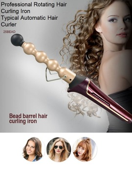 Professional electric automation rotating hair curling iron/ hair curling styler/ hair curling curler