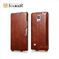 for galaxy note 4 cell phone leather case