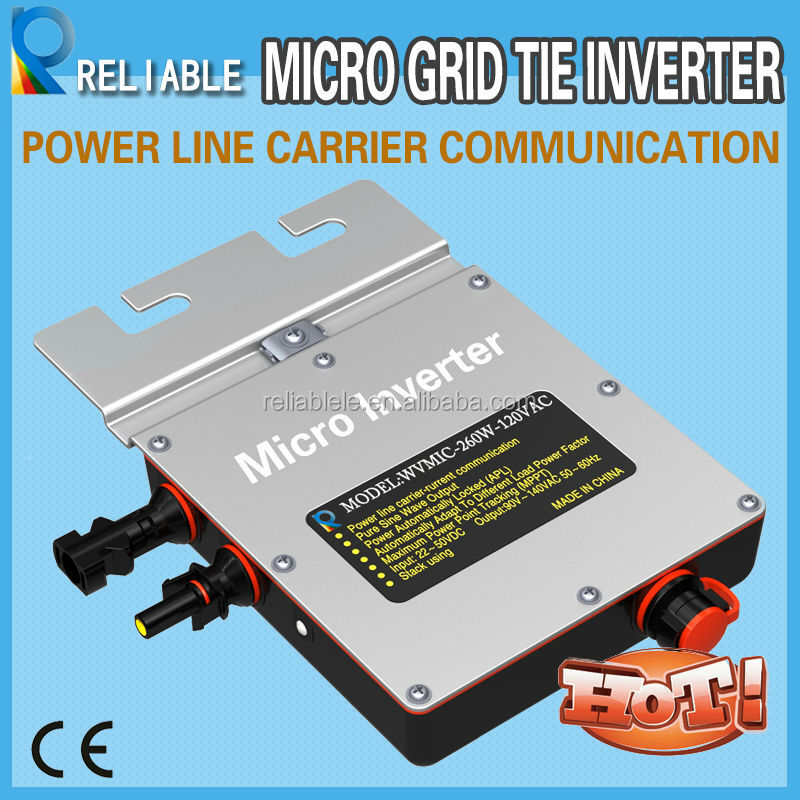 260W on grid solar inverter for small PV system