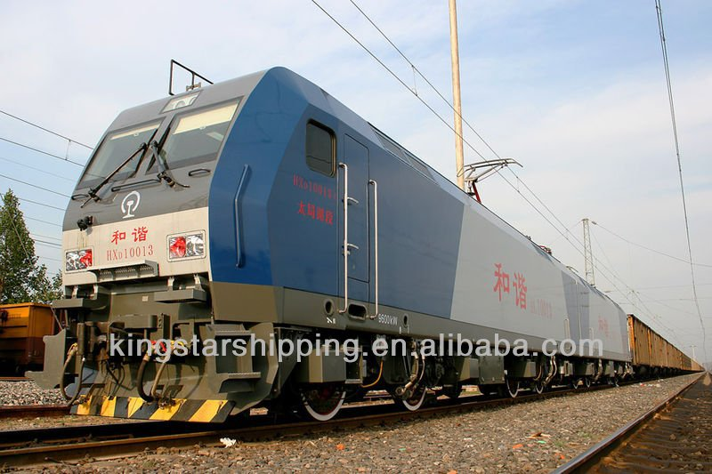 Sea-rail transportation service from Hongkong to Ekateringburg