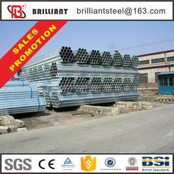 Trade Assurance steel gi pipe material