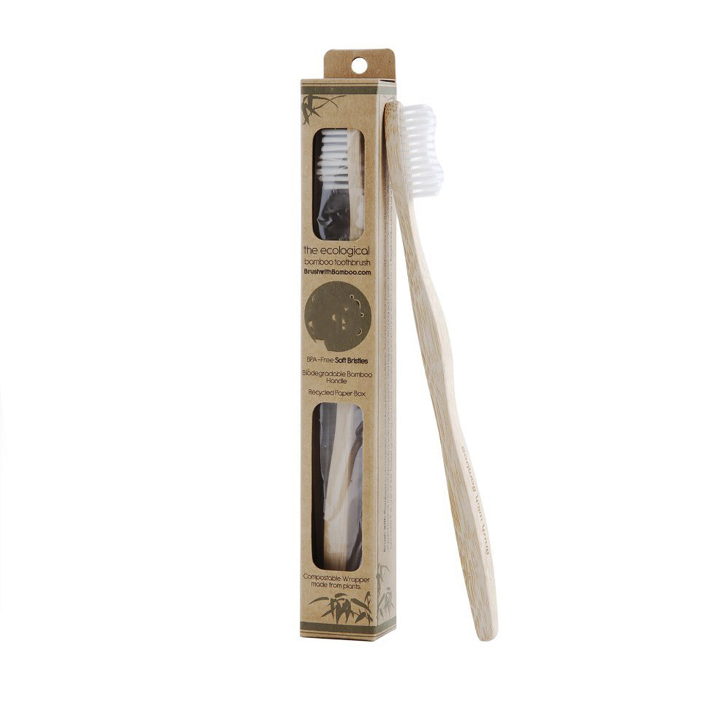 Colorful Soft Bristle Natural <strong>Bamboo</strong> Toothbrush for Adult