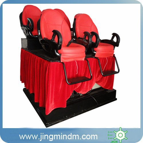 5D Cinema Game Roller Coaster machine Simulator for amusement park games equipment