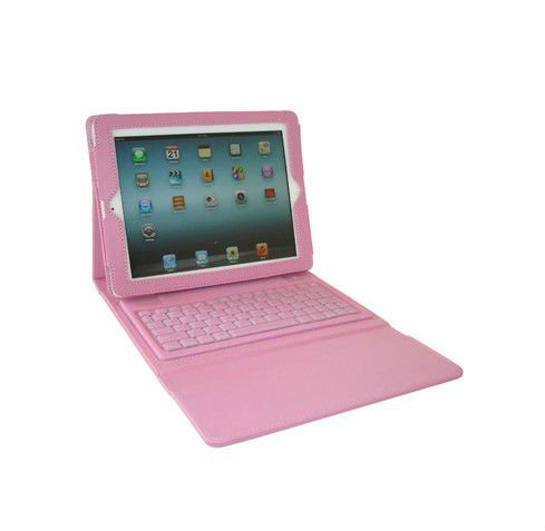 Custodia in pelle + bluetooth wireless tastiera coprire caso per ipad 2/3/ipad kkb008 4