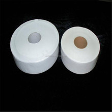 Manufactured Low Price Recycled Pulp Jumbo Roll Toilet Tissue Paper 2PLY