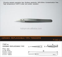 stainless steel ceramic tweezers