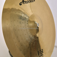 "brass cymbal for drum set, FH 14"" Crash practice Cymbal"