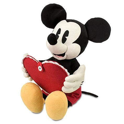 Valentine Day Minnie and Mickey Mouse plush