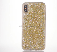 Newest bling bling phone case for iphone 8,sequin design fashion mobile phone cover for iphone8