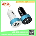 Dual usb car charger Cigarette Lighter adapter dc to dc charger usb car adapter socket