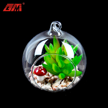 Luckygoods wholesale latest wedding decoration glass ball with hole
