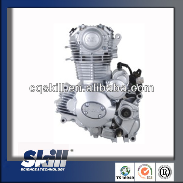 2016 Genuine zongshen 4 stroke air cooled motorcycle engine 250cc china