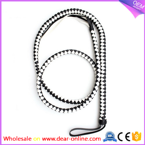 wholesale good quality leather whip for couple sex fun