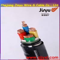 JYXL2015YJV11 0.6/1Kv Copper Conductor 4 Cores Silane XLPE Insulated Steel Tape Armoured PVC Sheathed Power Cable