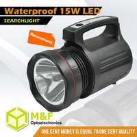 High quality long range rechargeable handheld led spotlight 5w outdoor use