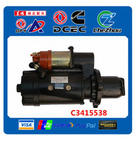 truck starter C3415538 with high quality 6BT,6CT