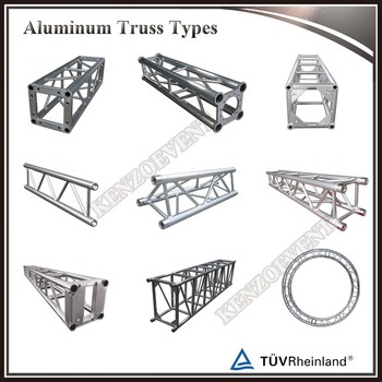 Cheap truss 12 inch aluminum square box truss for sale for Cheap trusses for sale