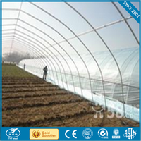 construction material prices solo span greenhouse galvanized steel frame glass greenhouse