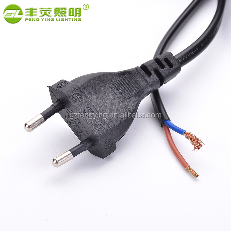 Oem Welcome european standard 2 pin ac power cord plug,ac power cord cable