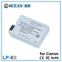 Promotional oem 7.2v ni-mh rechargeable battery pack LP-E8