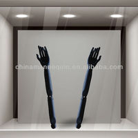 Flexible articulated black wooden mannequin arms for sale