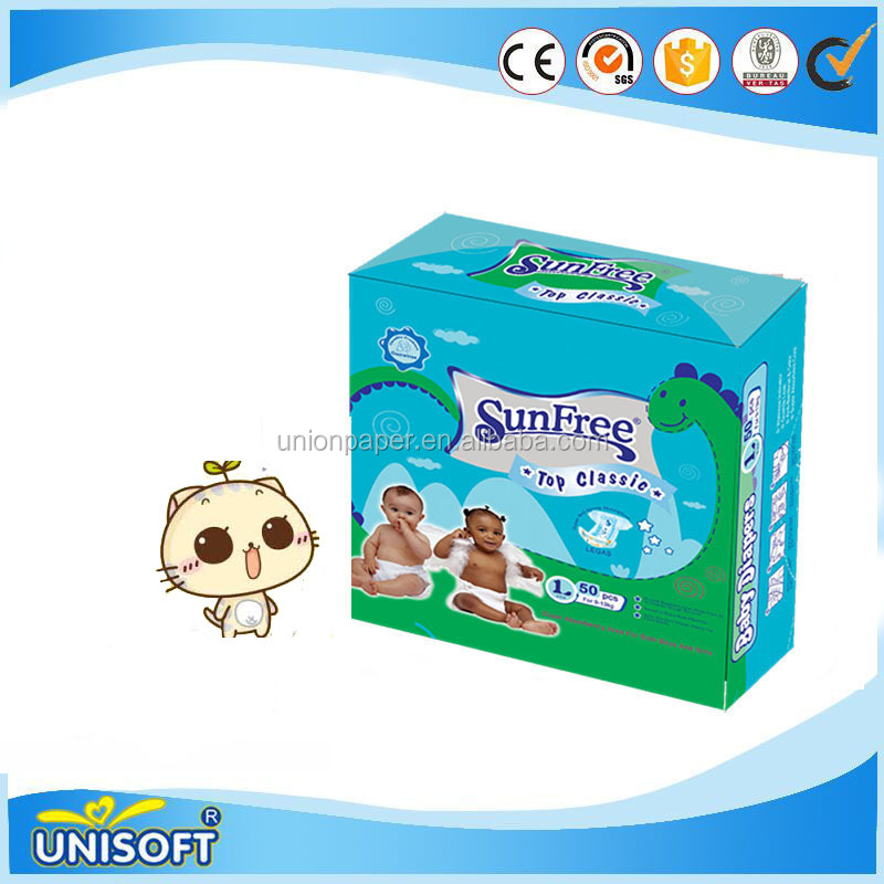 Comfortable Softtextile Disposable Sleepy Prima Dry and Soft Sunny baby diaper