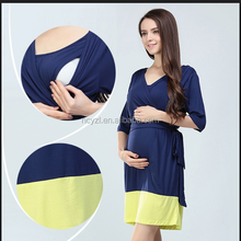 Fashion Modal maternity pregnant dress pregnancy clothes maternity wear