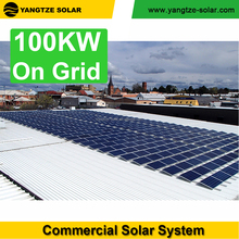 free shipping 100kw solar panel system grid tied systems