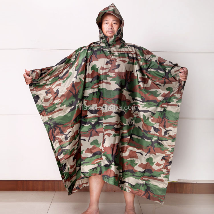 military poncho raincoat,military poncho,military camouflage fabric  (2).jpg