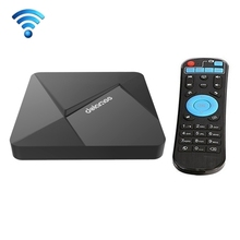 4K UHD Smart TV BOX with Remote Controller, Android 5.1 Rockchip RK3229 Quad Core 1.5GHz