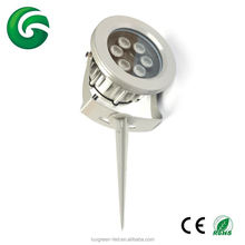 RGBA RGBY RGBW 4 in 1 led garden spot lights with spike IP67