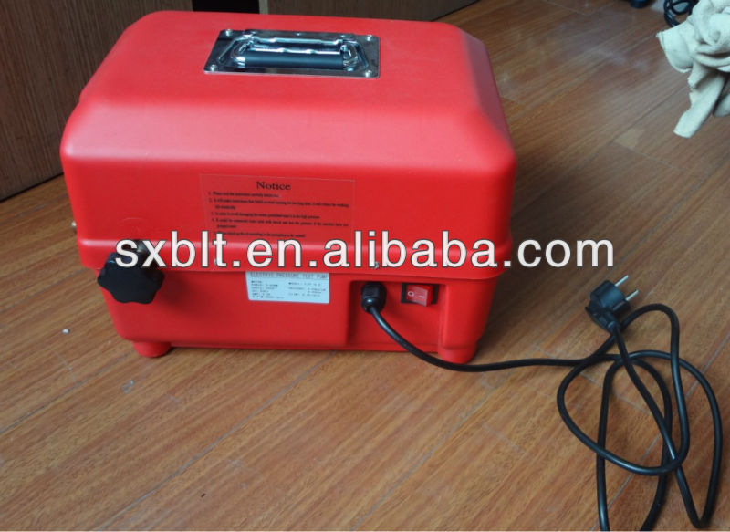 600 PSI electric test pump / electric pipeline pressure test pump ETP-4.0 / 8.0L/m for pipeline with tank