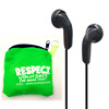 Cheap disposable earphone from headphone factory