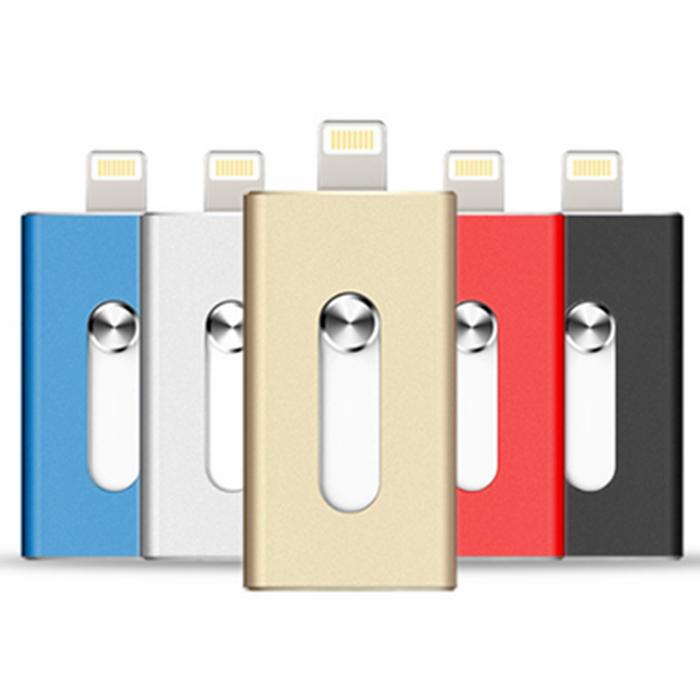 high quality fast speed stocked PU flash drive 128gb