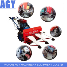 AGY farmer used small rice wheat harvester and grain power tiller reaper