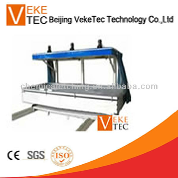 Automatic screen printing exposure machine