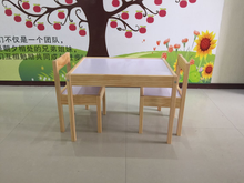 made in China study chairs tables wooden furniture/kids furniture study table and chairs/middle school student desk and chair