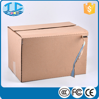 Foldable strong shipping corrugated wine carton box