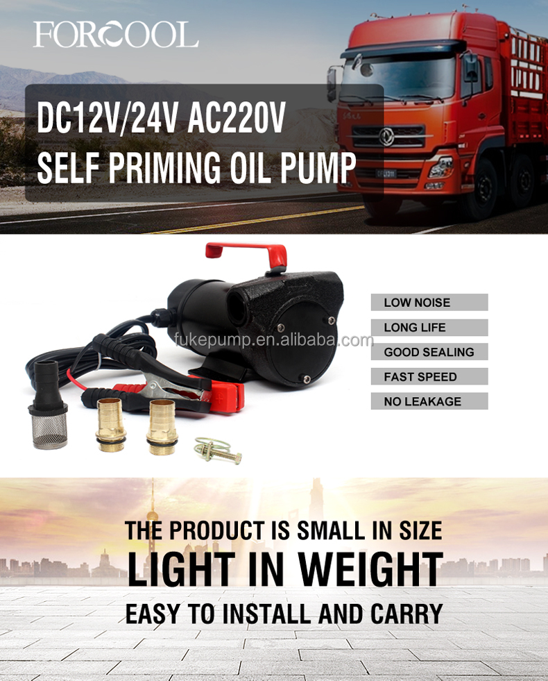 12V Mini Portable Manual Fuel Dispensing Oil Refueling Pump