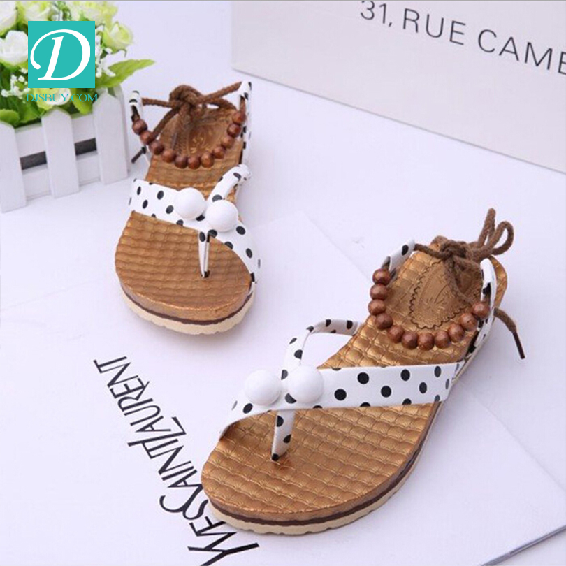 Free Shipping Casual Women Sandals Sweet Girls Dew Lace-up Shoes
