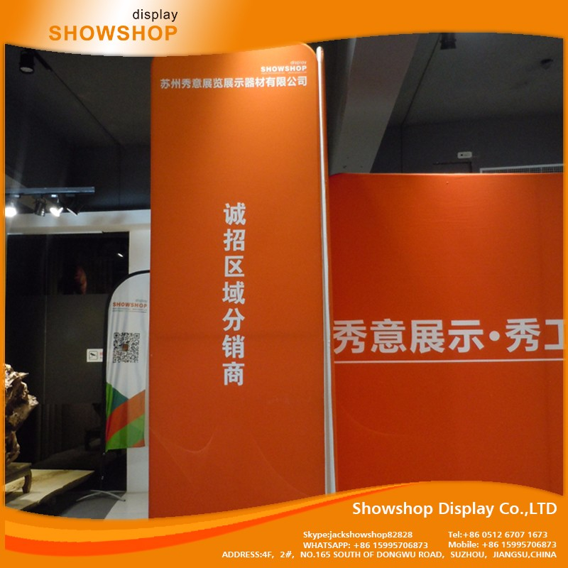 Outdoor Custom-Made trade show equipment tension fabric displays