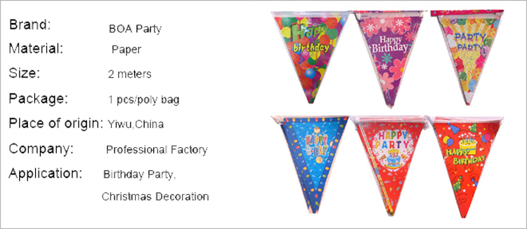 party paper streamer for indoor decoration