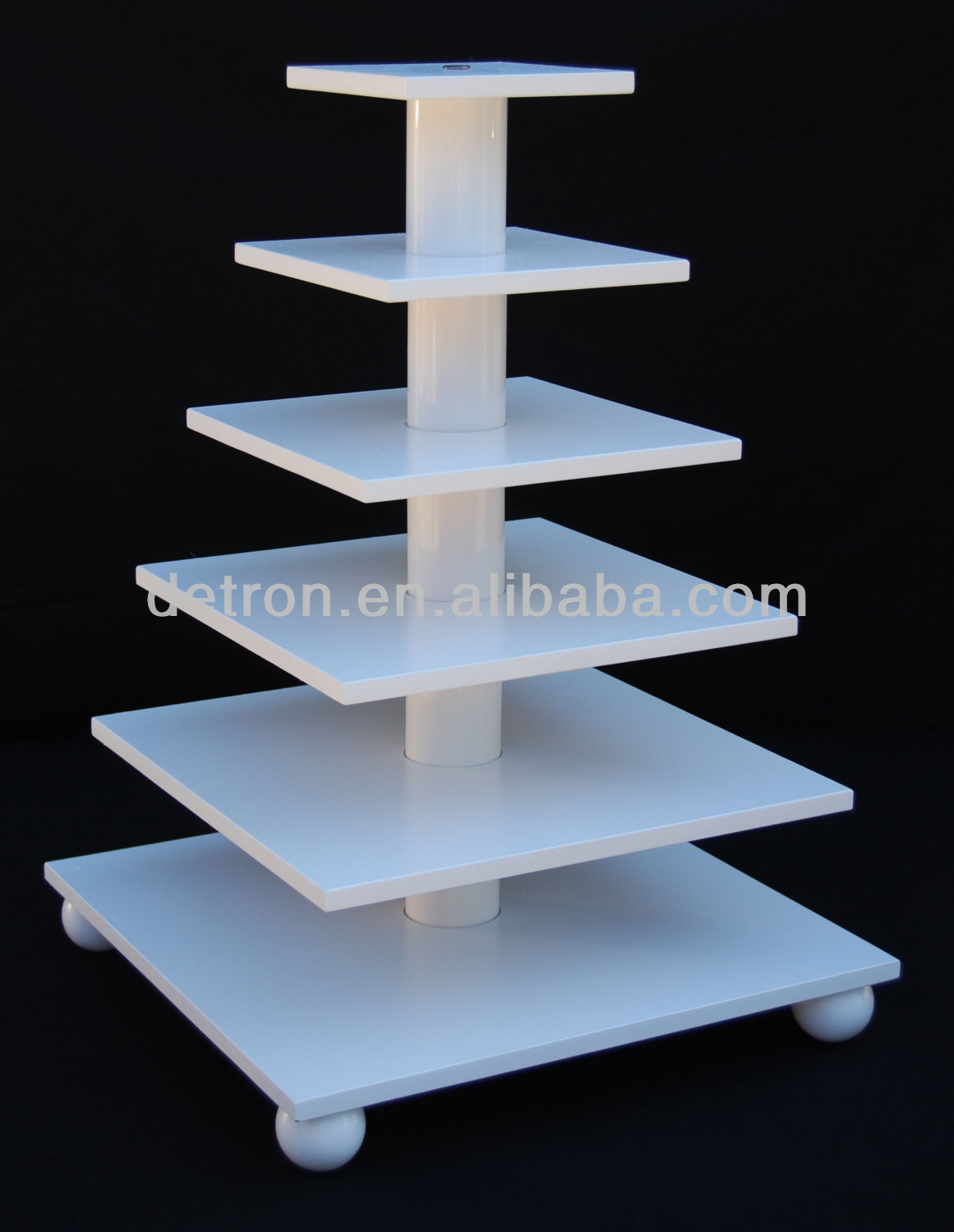 Adjustable 6 tier cupcake display stand