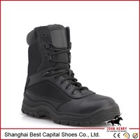 oil waterproof resistant toe S1 work boot/China Handmade Camel Goodyear Safety Footwear